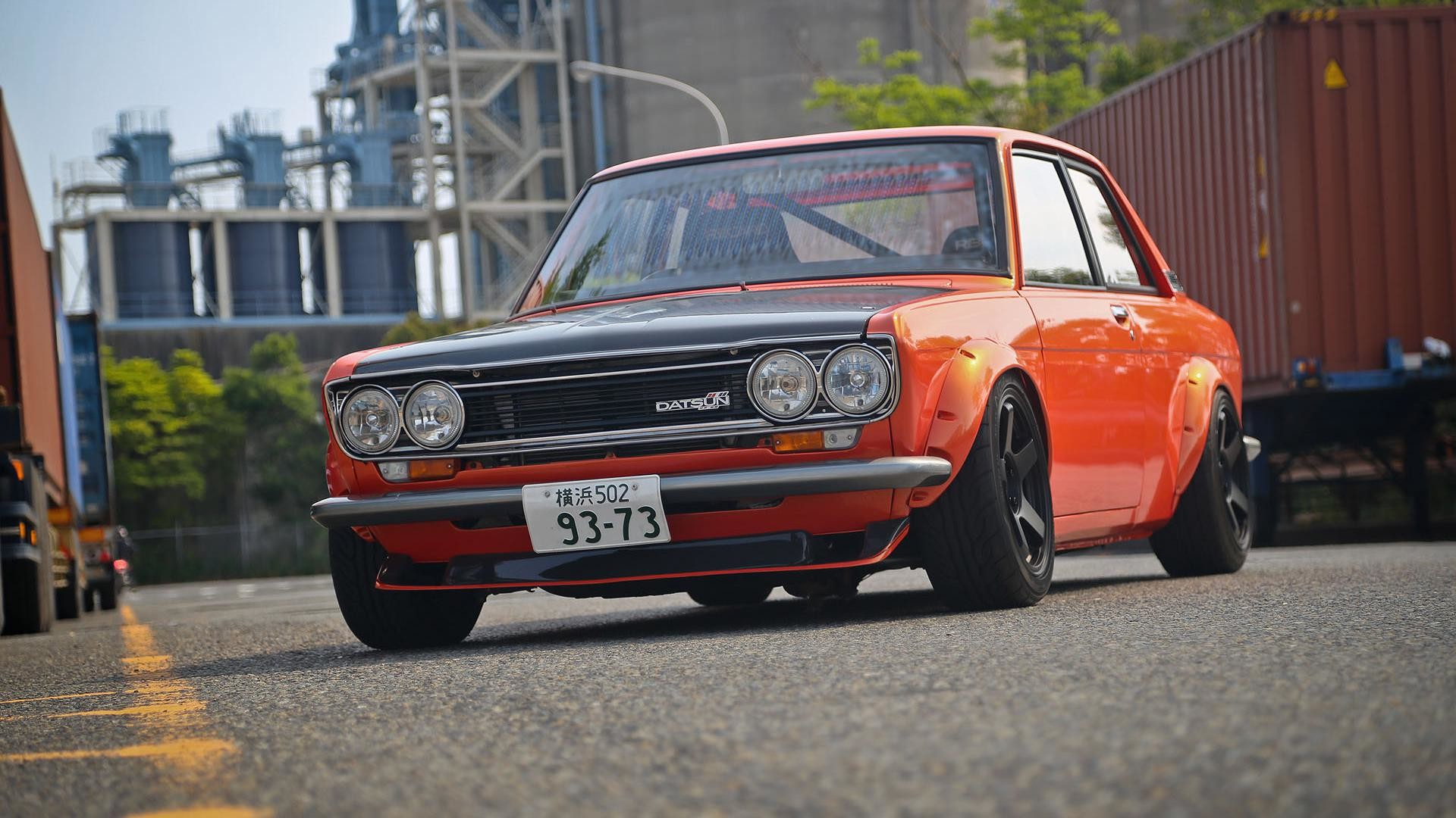 Datsun 510 Wallpaper 1920x1080