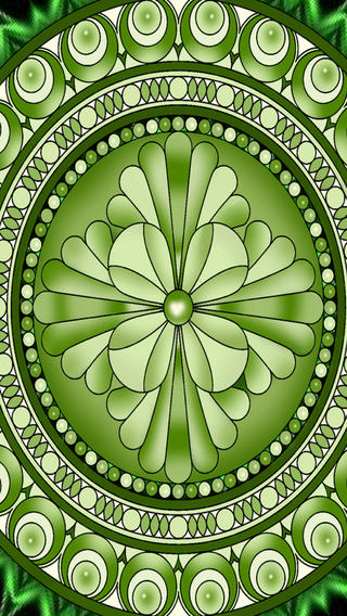Mandala Chakra Mediation Wallpapers en App Store 320x568