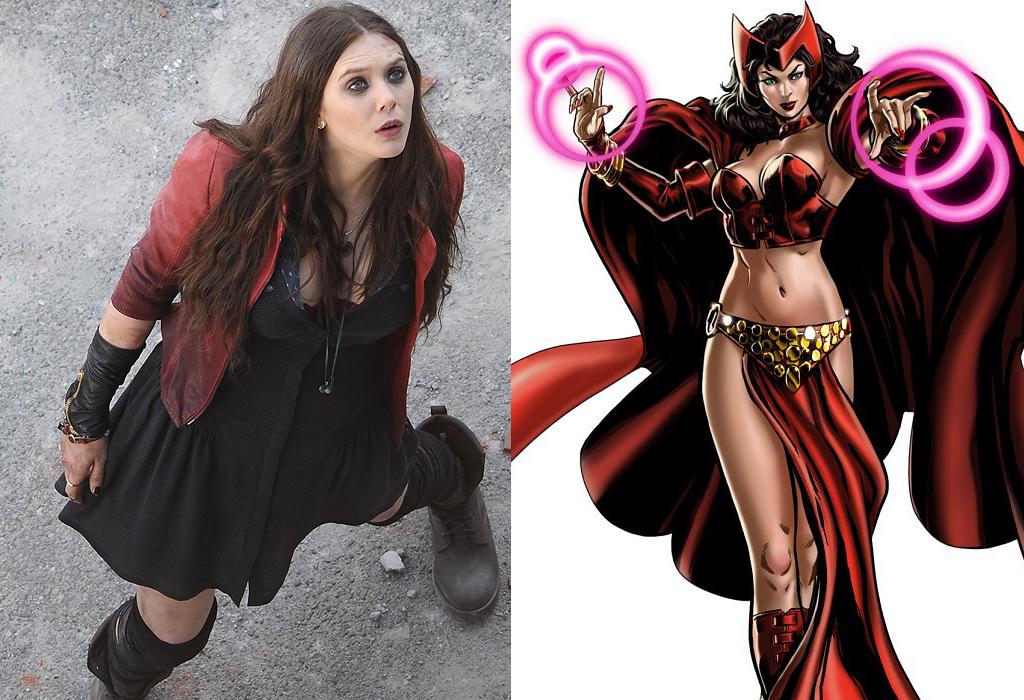 Elizabeth Olsen Scarlet Witch marvel avengers 2 WDW Daily News 1024x700