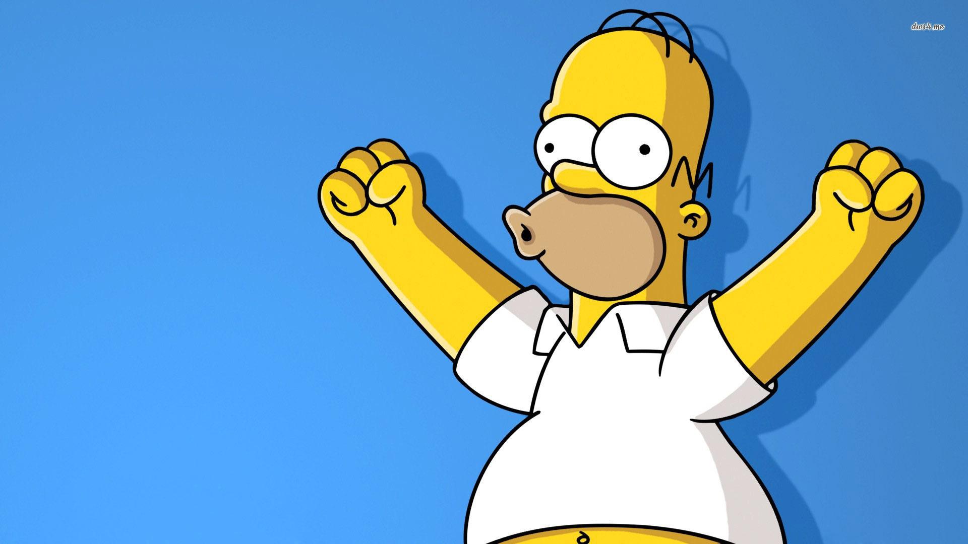 Pics Photos   Homer Simpson Desktop Wallpaper 1920x1080