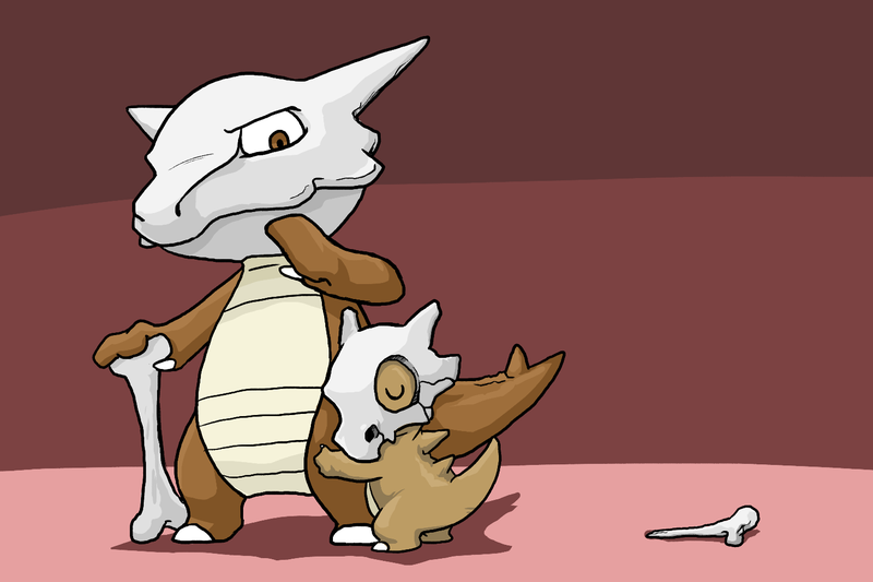 The Cubone Family by Zerochan923600 800x533