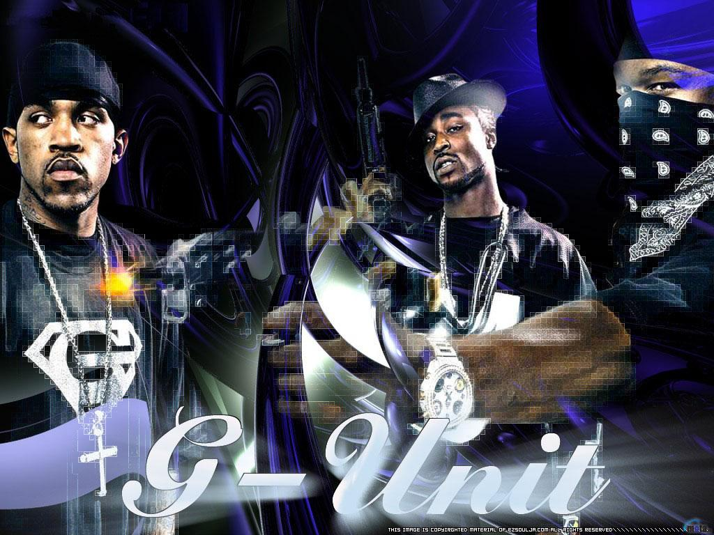 Download Wallpaper Lloyd Banks Tony Yayo and 50 cent G Unit 1024 x 1024x768