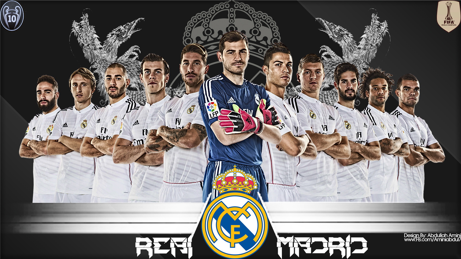 Real Madrid Football Wallpaper 1920x1080