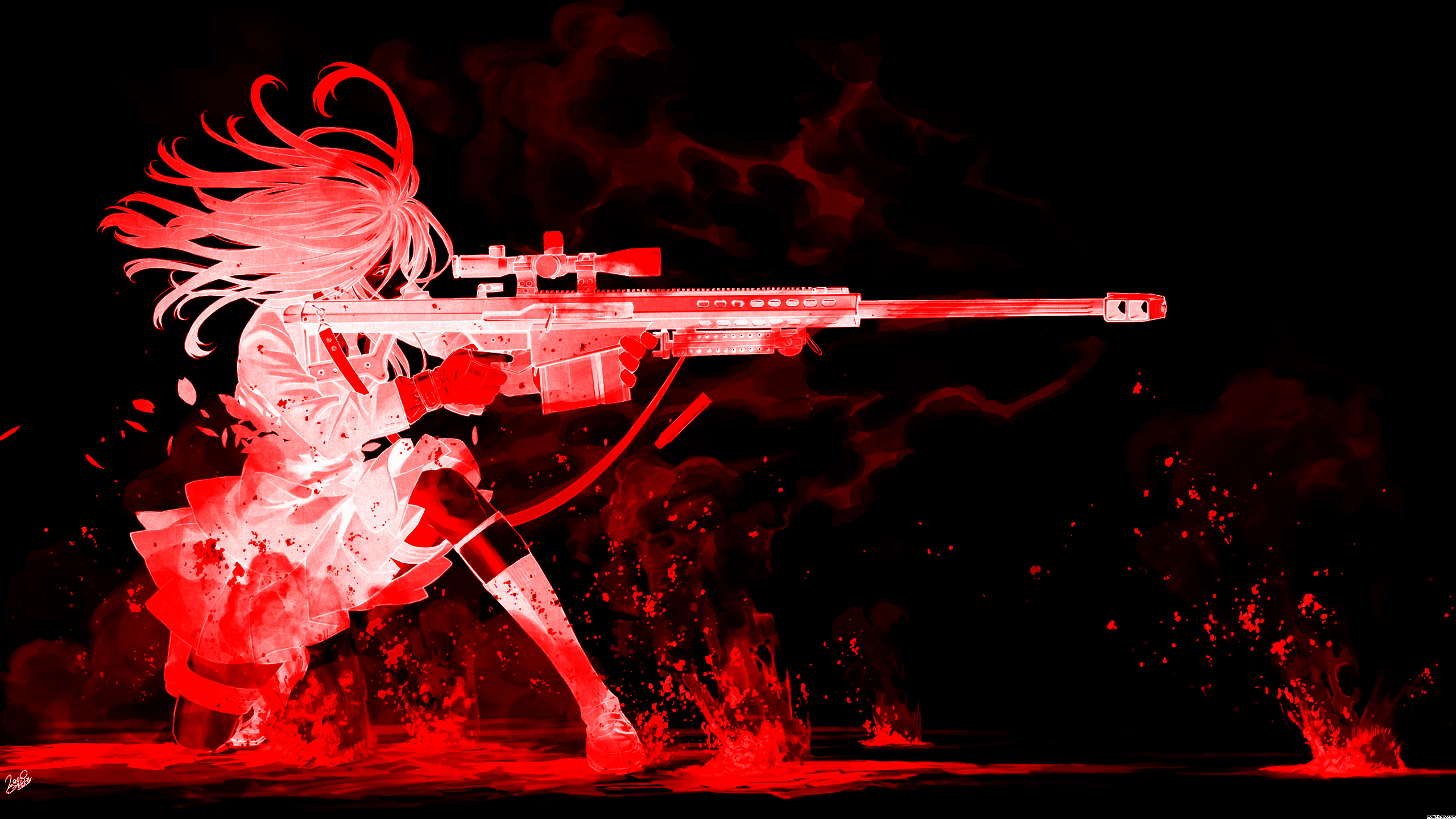 Snipers Anime 25601440 Wallpaper 2190142 2560x1440