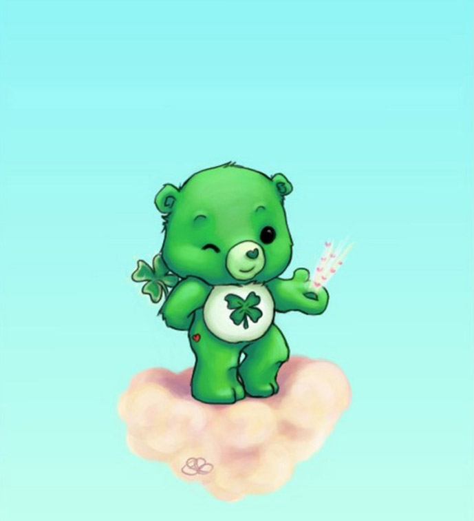 four leaf clover wallpapers 689x756