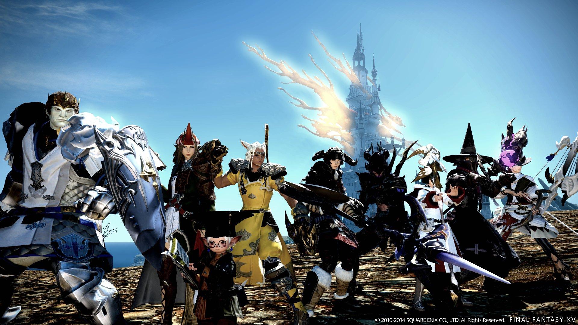 XIV Realm Reborn game adventure online 2 wallpaper background 1920x1080