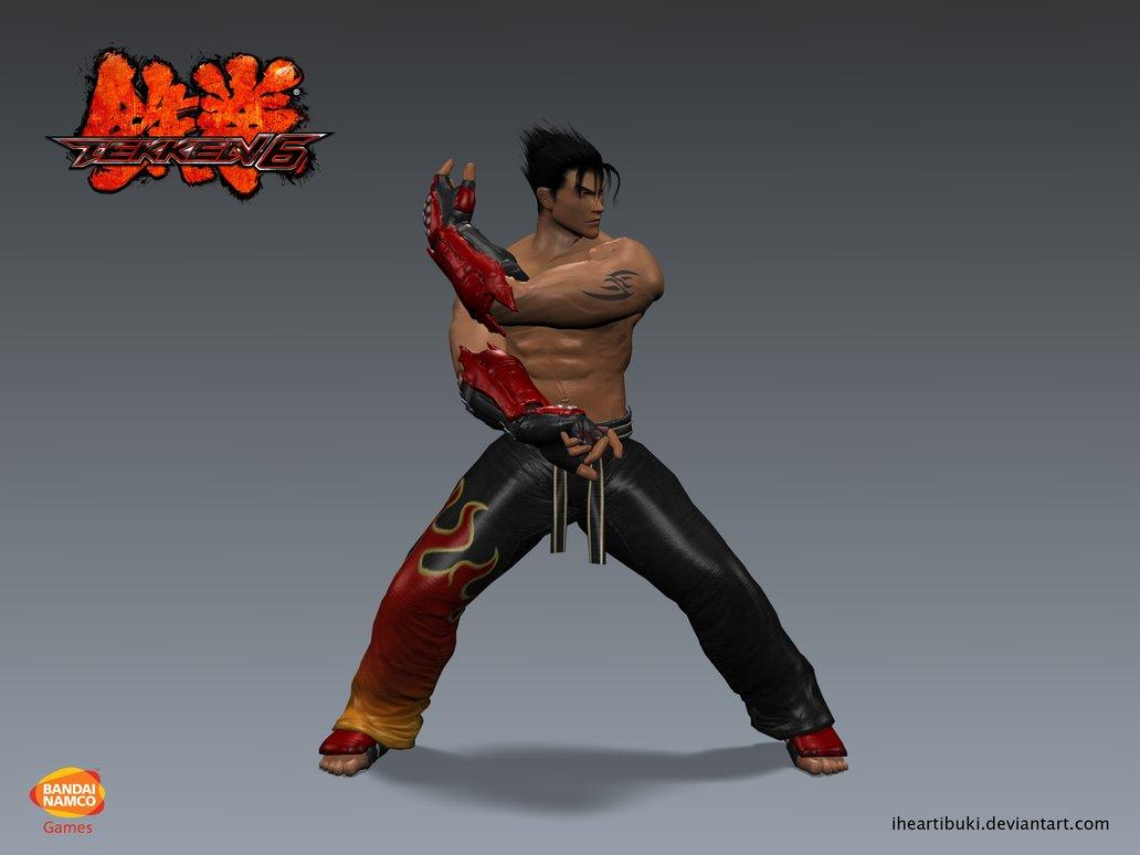 Free Download Tekken 6 Jin Kazama Tekken 5 Promo Image Render By