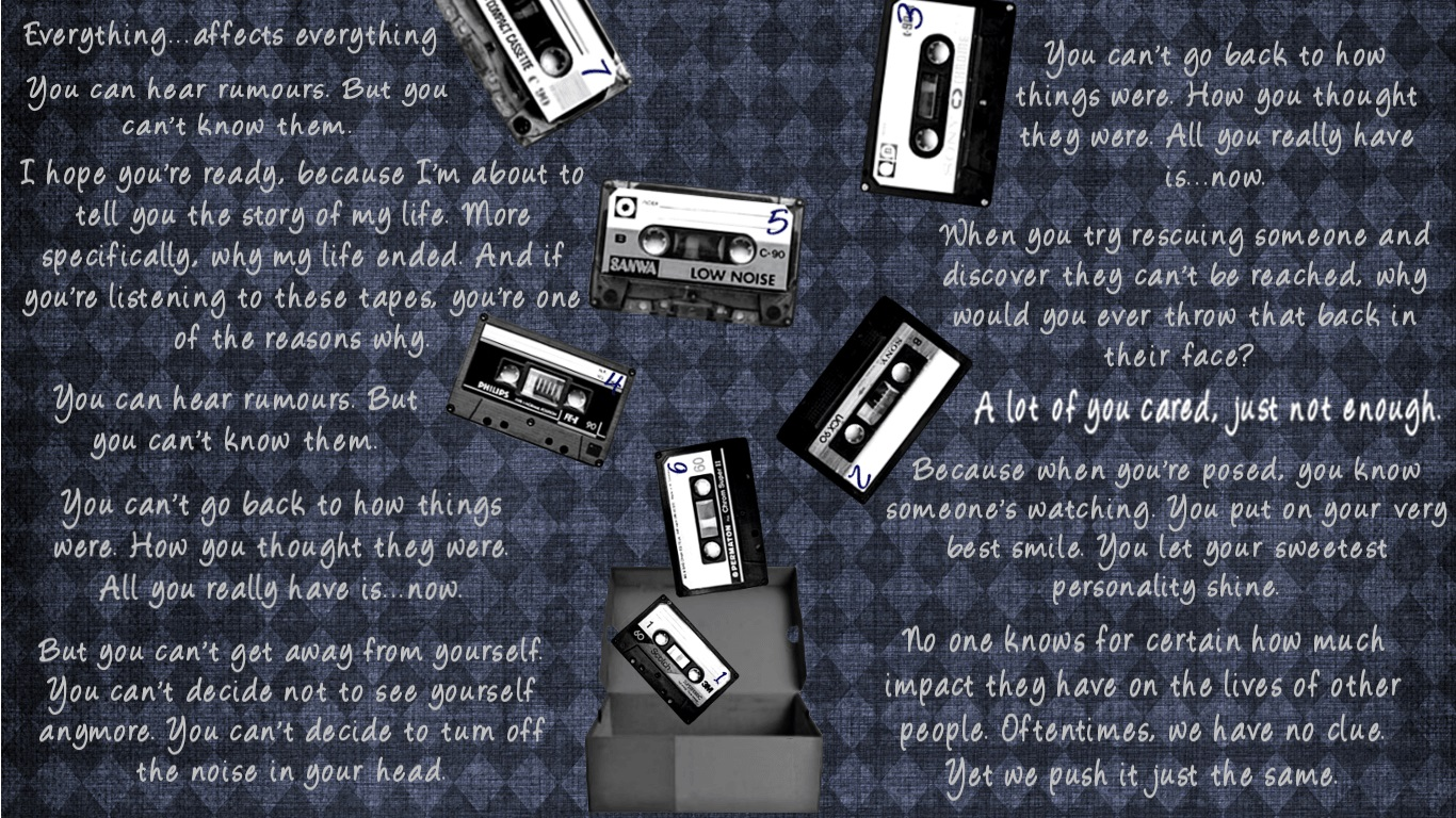 Free Download 13 Reasons Why Background 14 1366x768 For