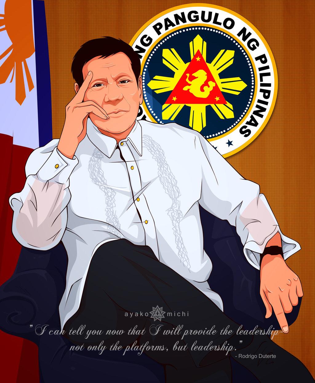 President Rodrigo Duterte Anime   1024x1243 Wallpaper   teahubio 1024x1243