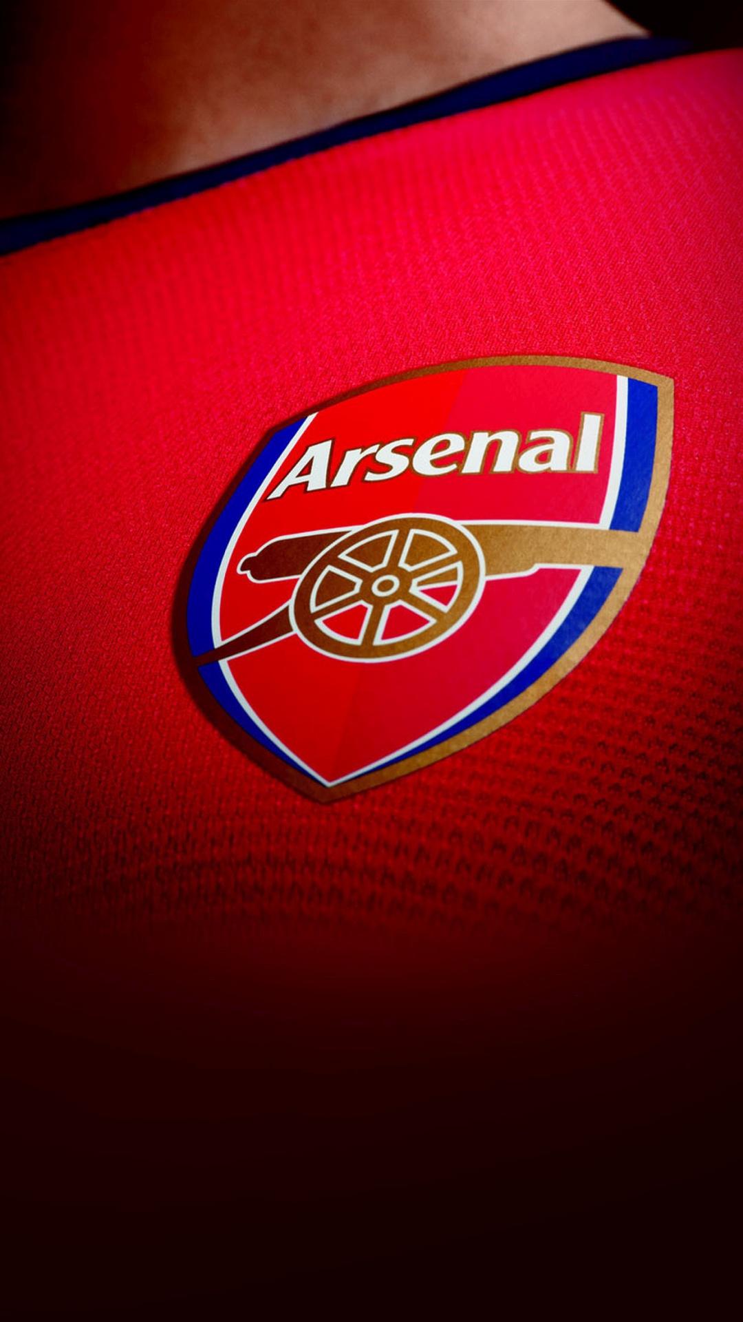 Arsenal Football Team Logo England Soccer iPhone 6 HD Wallpaper 1080x1920