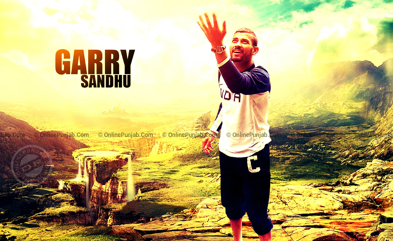 Punjabi Singer Garry Sandhu Latest HD Wallpaper 1280x785