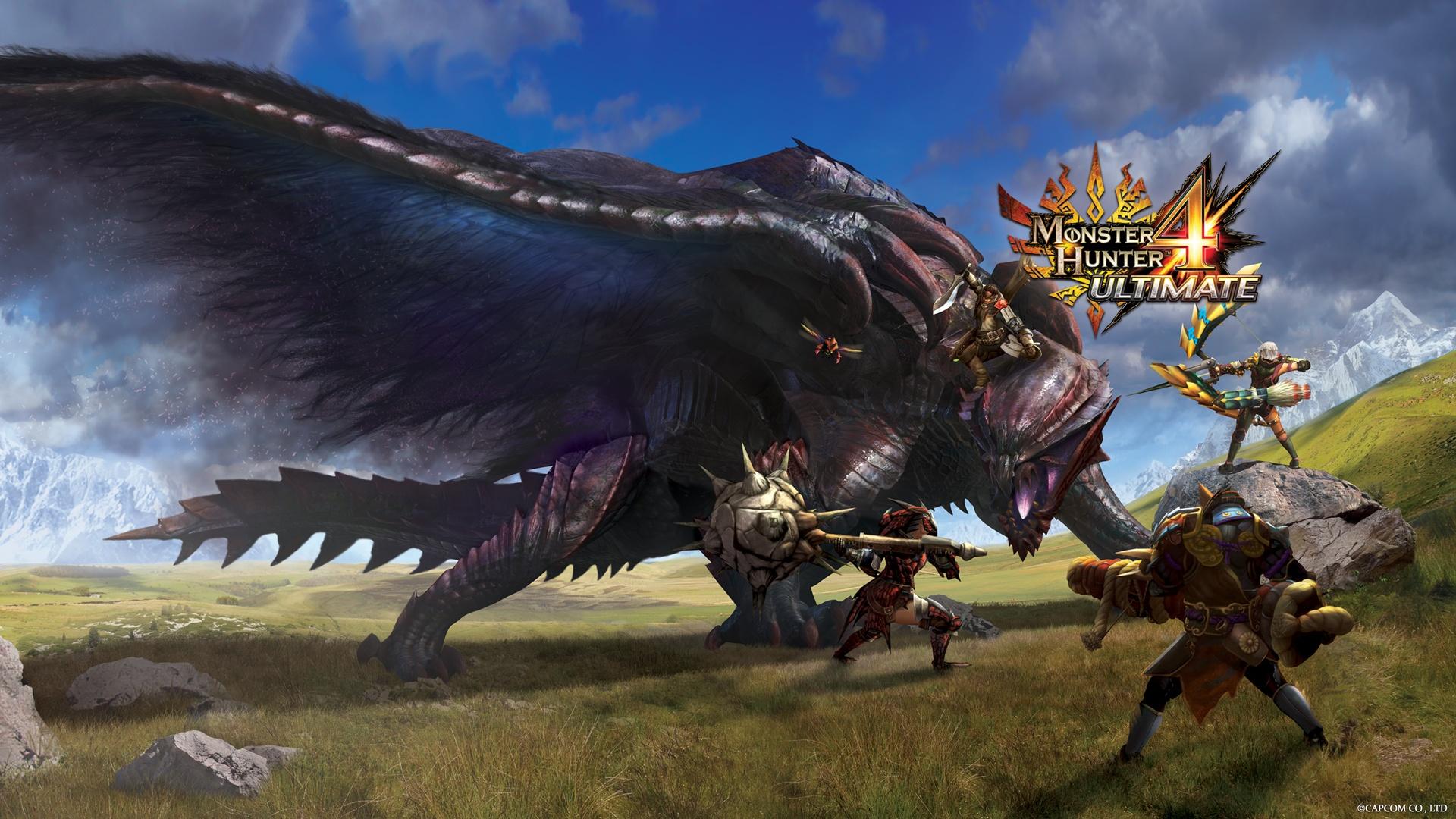 Monster Hunter 4 Ultimate DLC Quest Episode Six Detailed SegmentNext 1920x1080