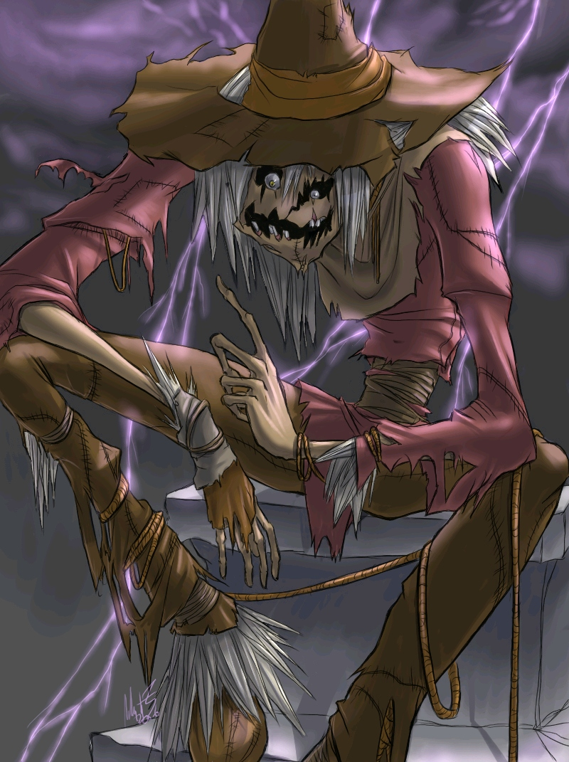 Batman   Scarecrow by wynahiros 800x1071