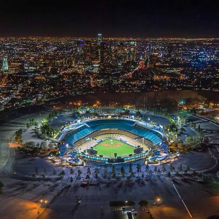 downtown LA Los Angeles Dodgers