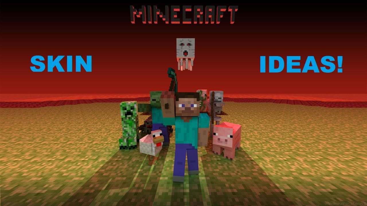Minecraft Skin Ideas Pictures HD Wallpaper of Minecraft 1280x720