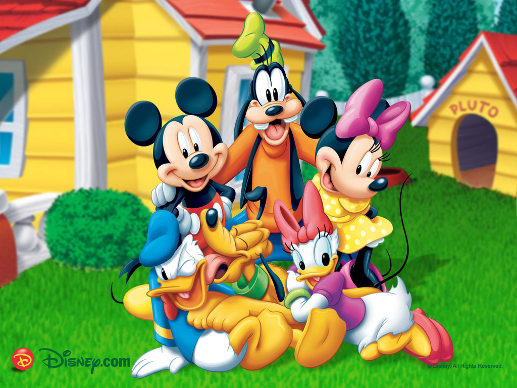 Mickey Mouse Birthday Wallpaper 1034 Hd Wallpapers In Cartoons 1024x768