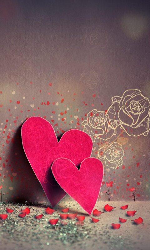Hd Love Wallpapers For Mobile 480x800 : Wallpaper HD 480x800 - WallpaperSafari