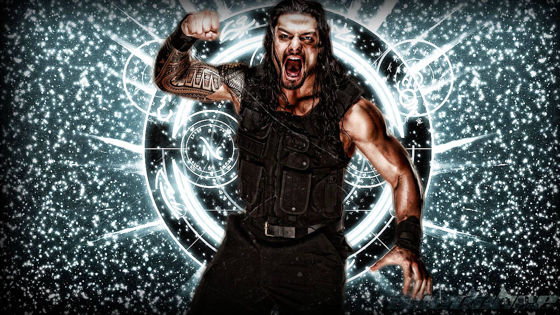 Roman Reigns Logo Wallpapers 1920x1080