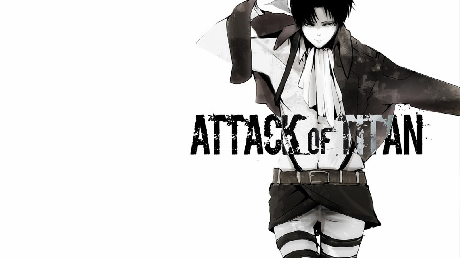 levi titan attack on titan shingeki no kyojin hd wallpaper 1600x900 5f 1600x900