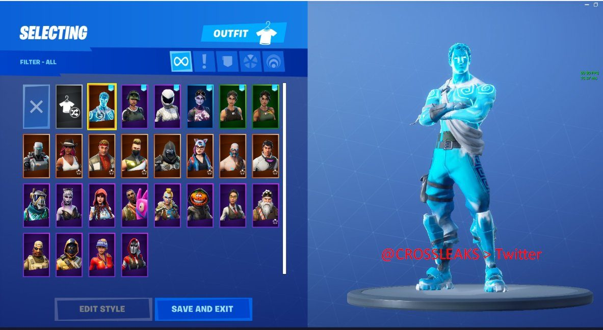 Frozen Legends Fortnite starter pack leaked featuring winter 1183x648