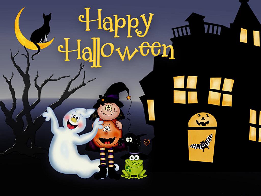 Animated Halloween Wallpaper Wallpapers Funny   Doblelolcom 1024x768