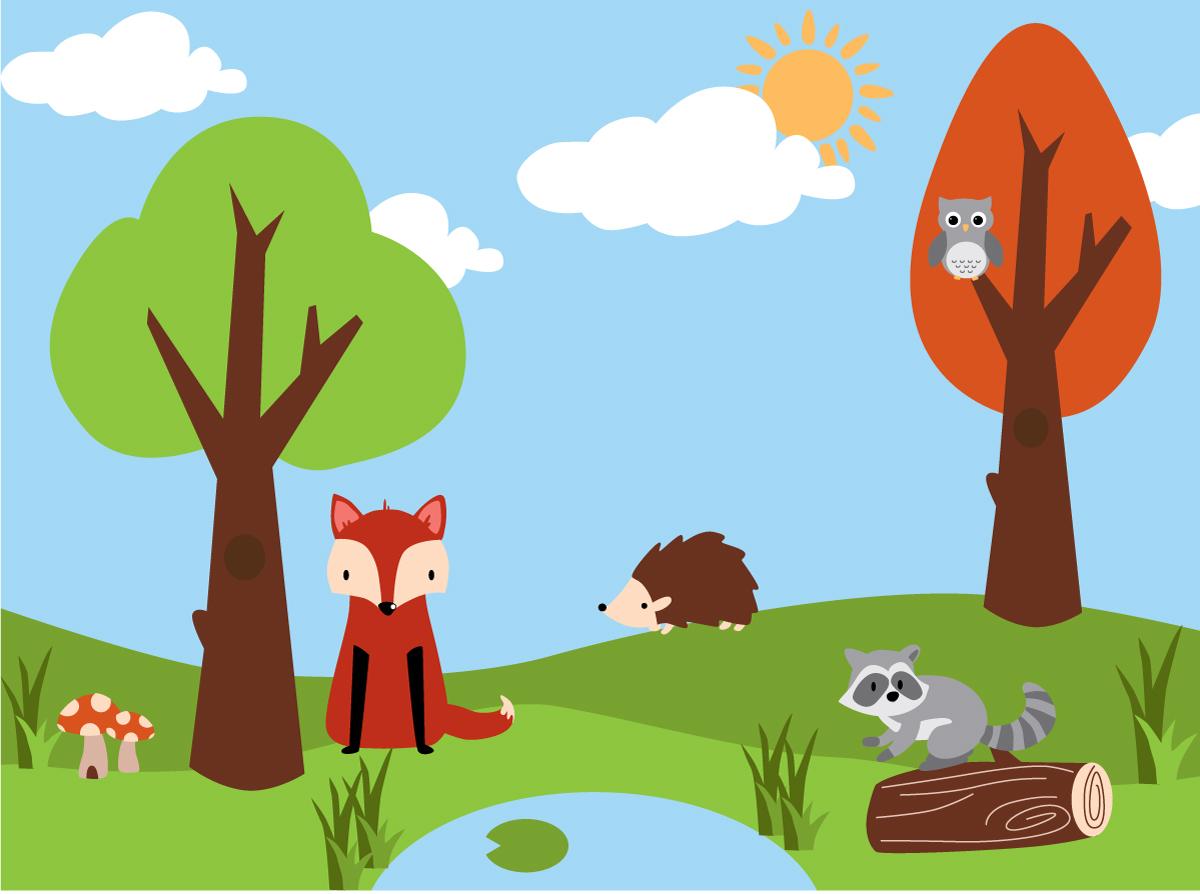 Woodland Creature Wallpaper - WallpaperSafari