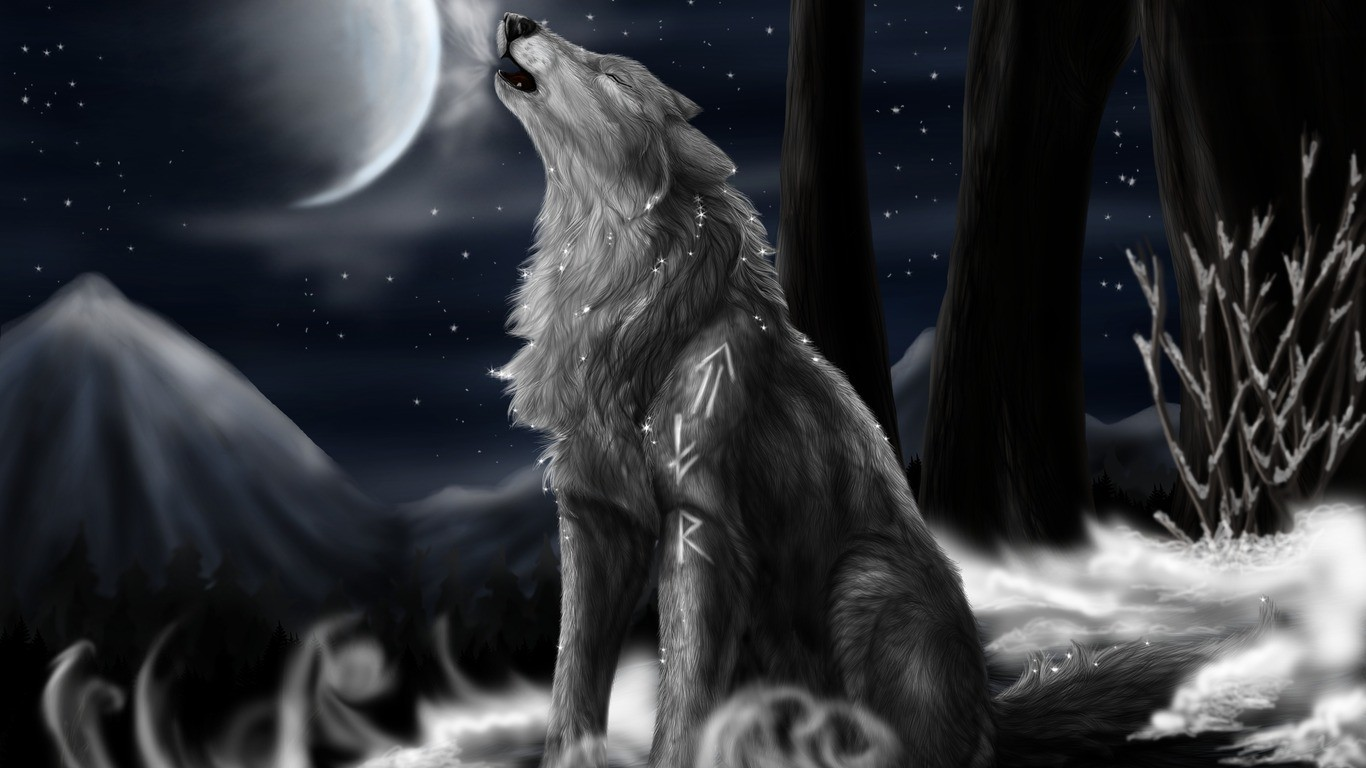 Anime Wolf Wallpaper Download No 1 Wallpaper Hd