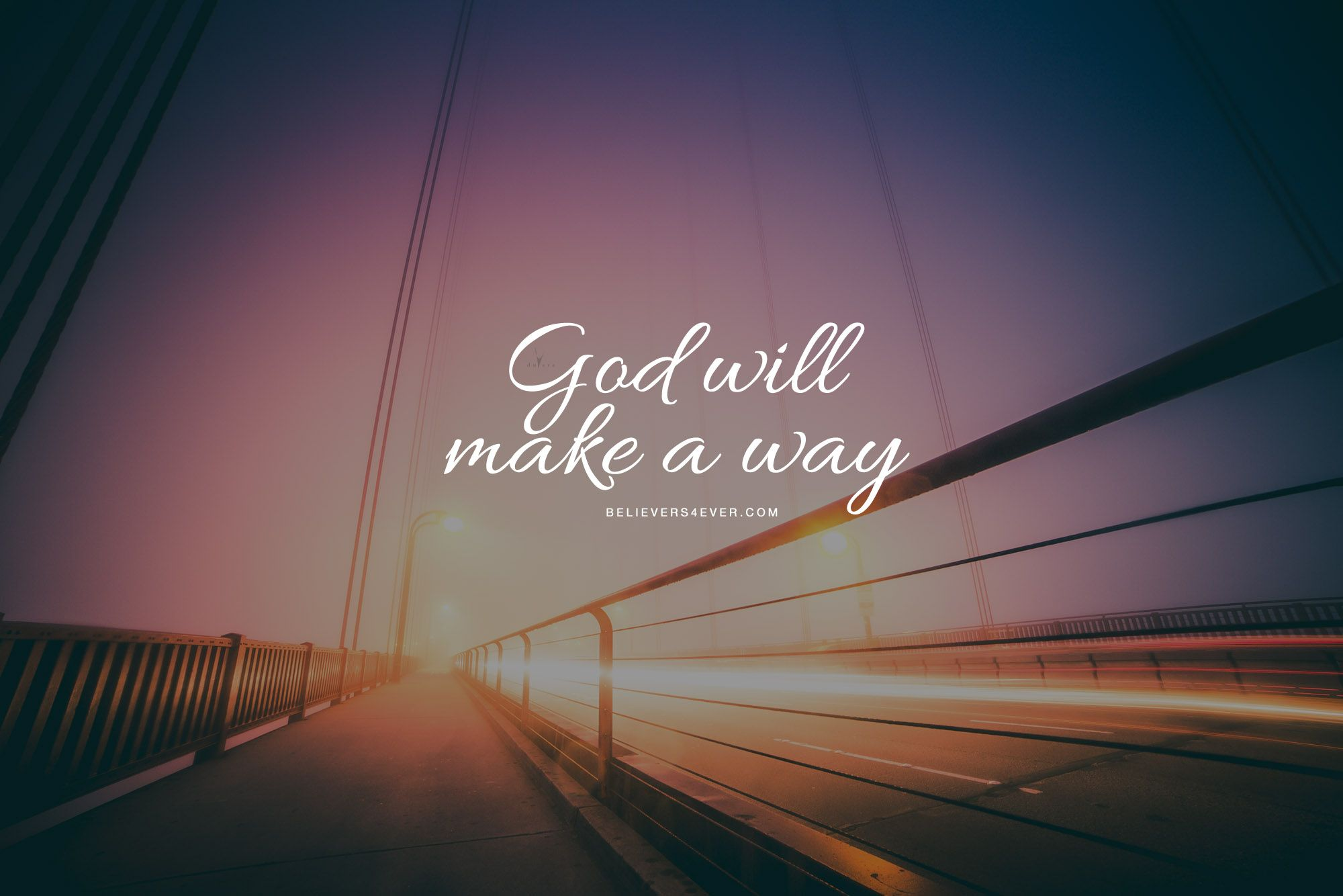 God will make a way Christian quotes Wallpaper bible 2000x1334