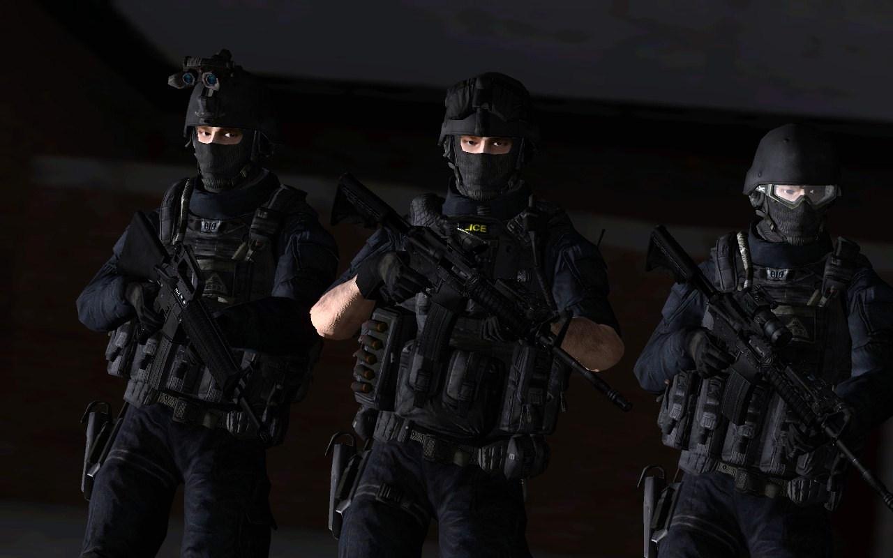 SWAT Team by LordHayabusa357 1280x800