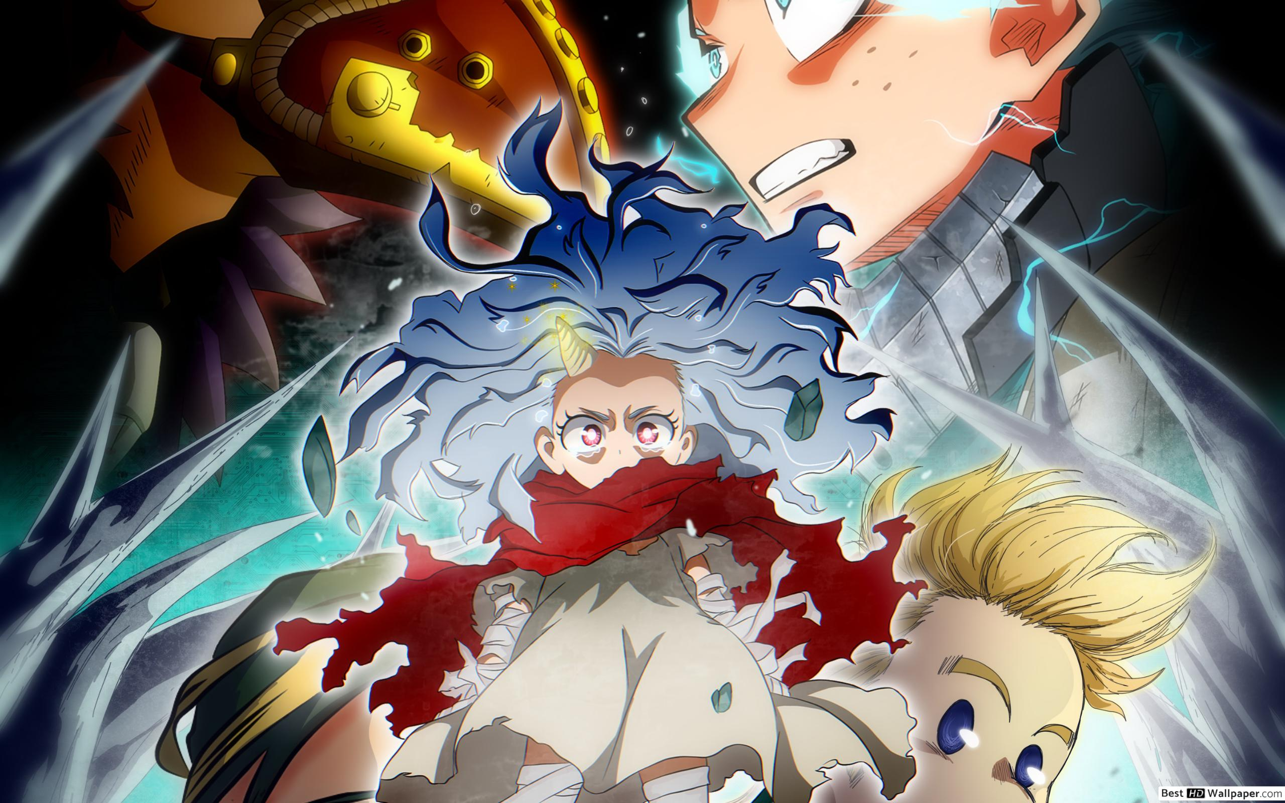 My Hero Academia Season 4 Cover HD wallpaper download 2560x1600