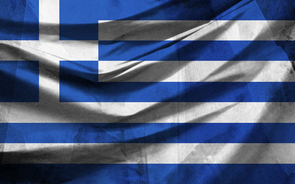 Greek Flag with Texture by metfuel 600x375