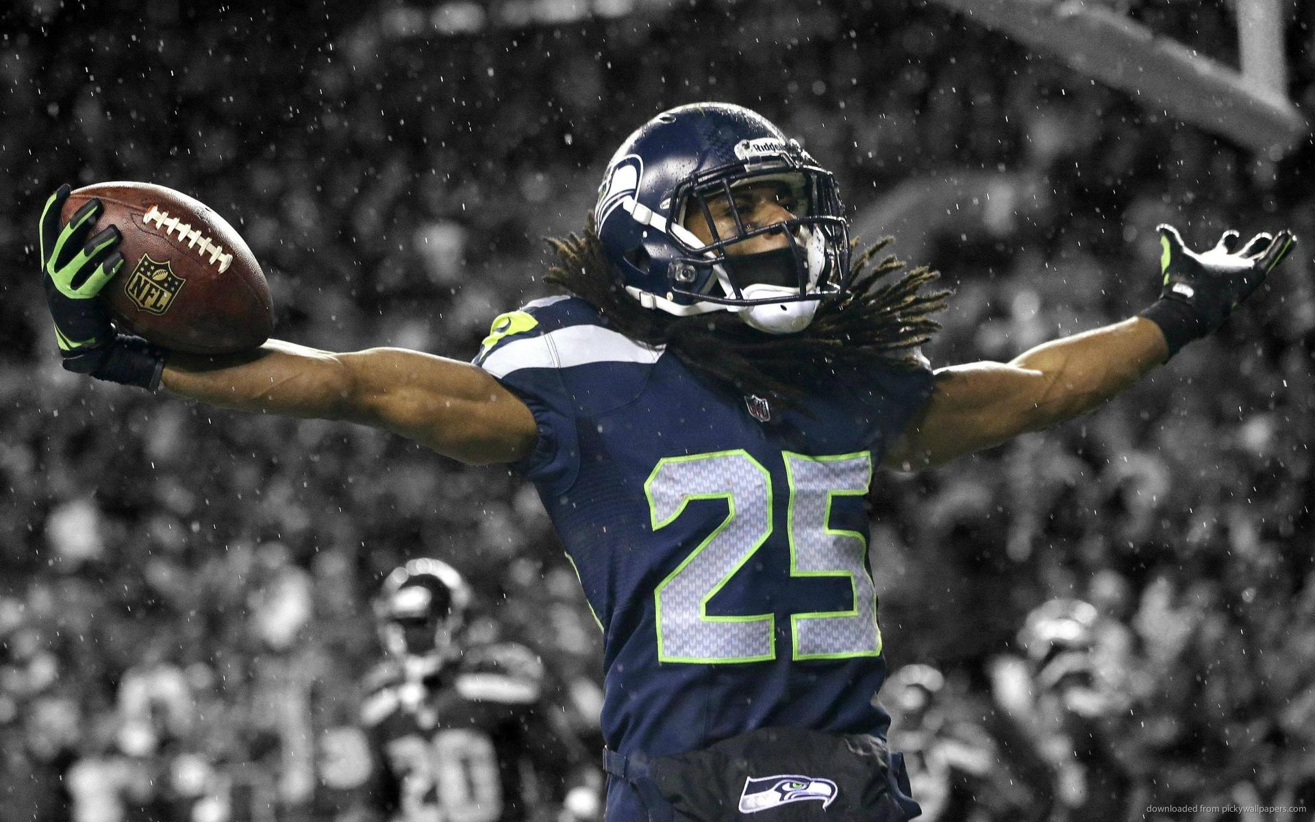 Download 1920x1200 Seattle Seahawks Richard Sherman Wallpaper 1920x1200