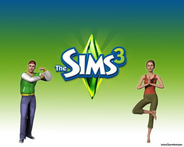 Wallpaper The Sims 3 by Nanetillo 600x480