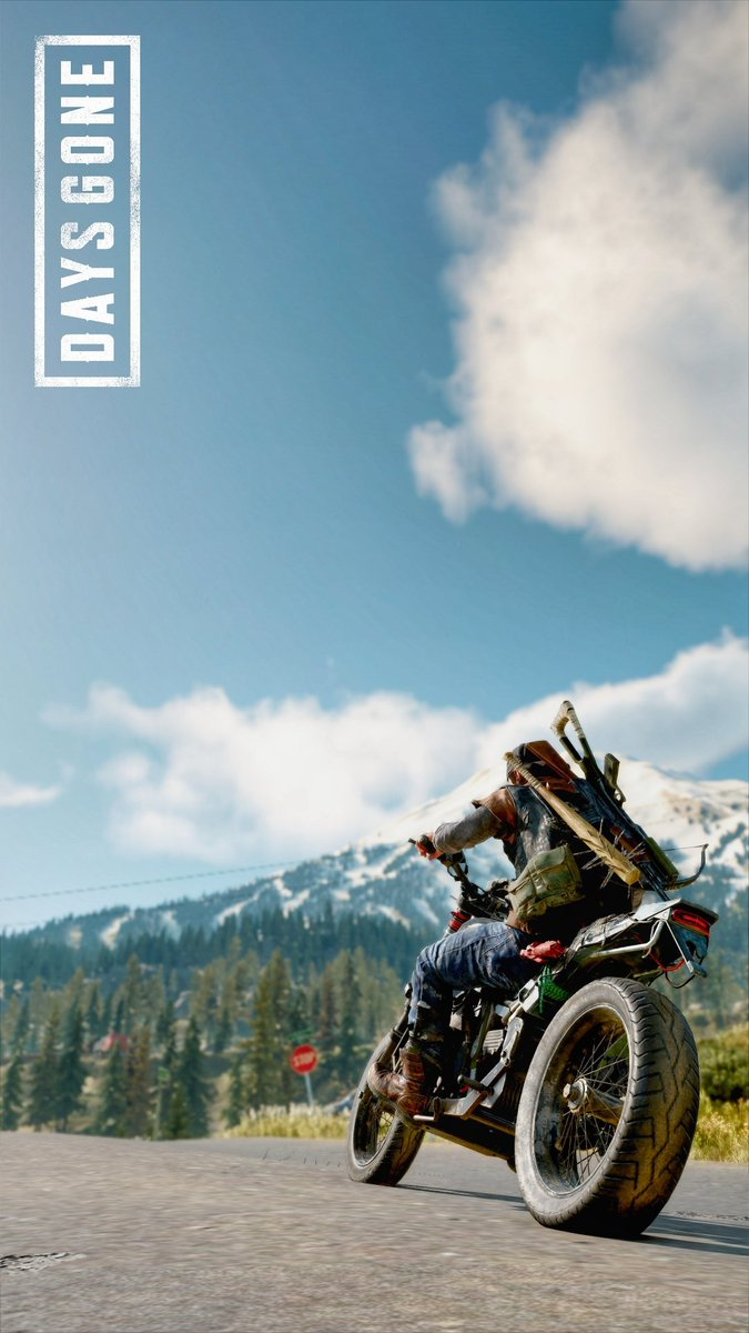 Kevin DaysGone on Twitter Deacon and His Bike mobile 675x1200