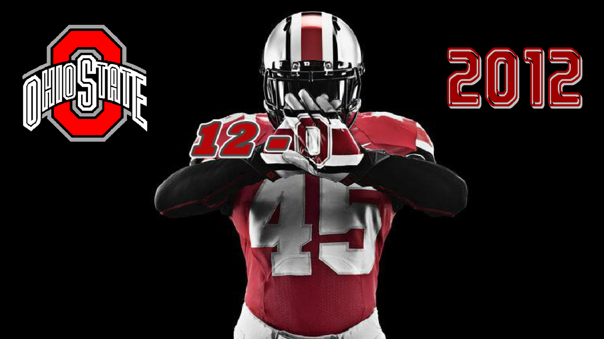 OHIO STATE 12 0 2012   Ohio State Football Wallpaper 1920x1080