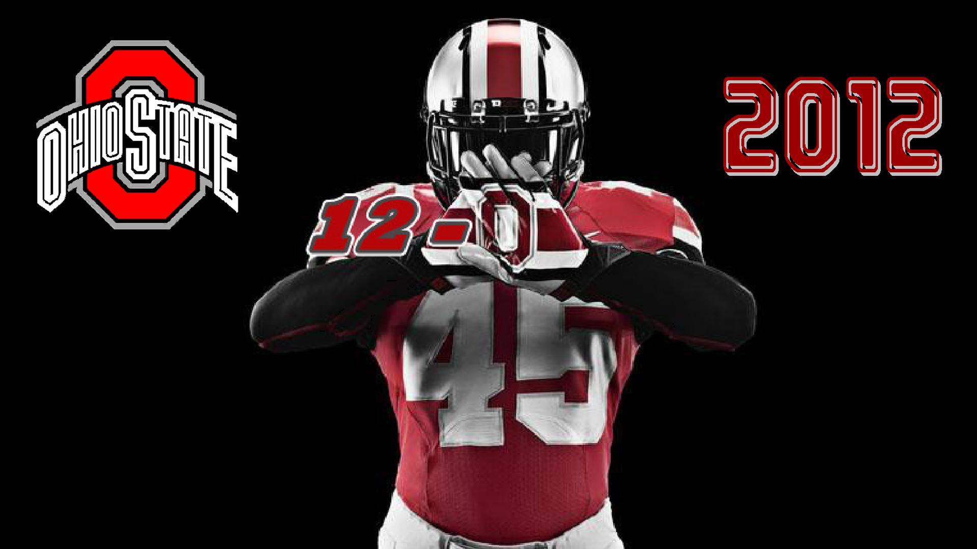 OHIO STATE 12-0 2012 - Ohio State Football Wallpaper ...