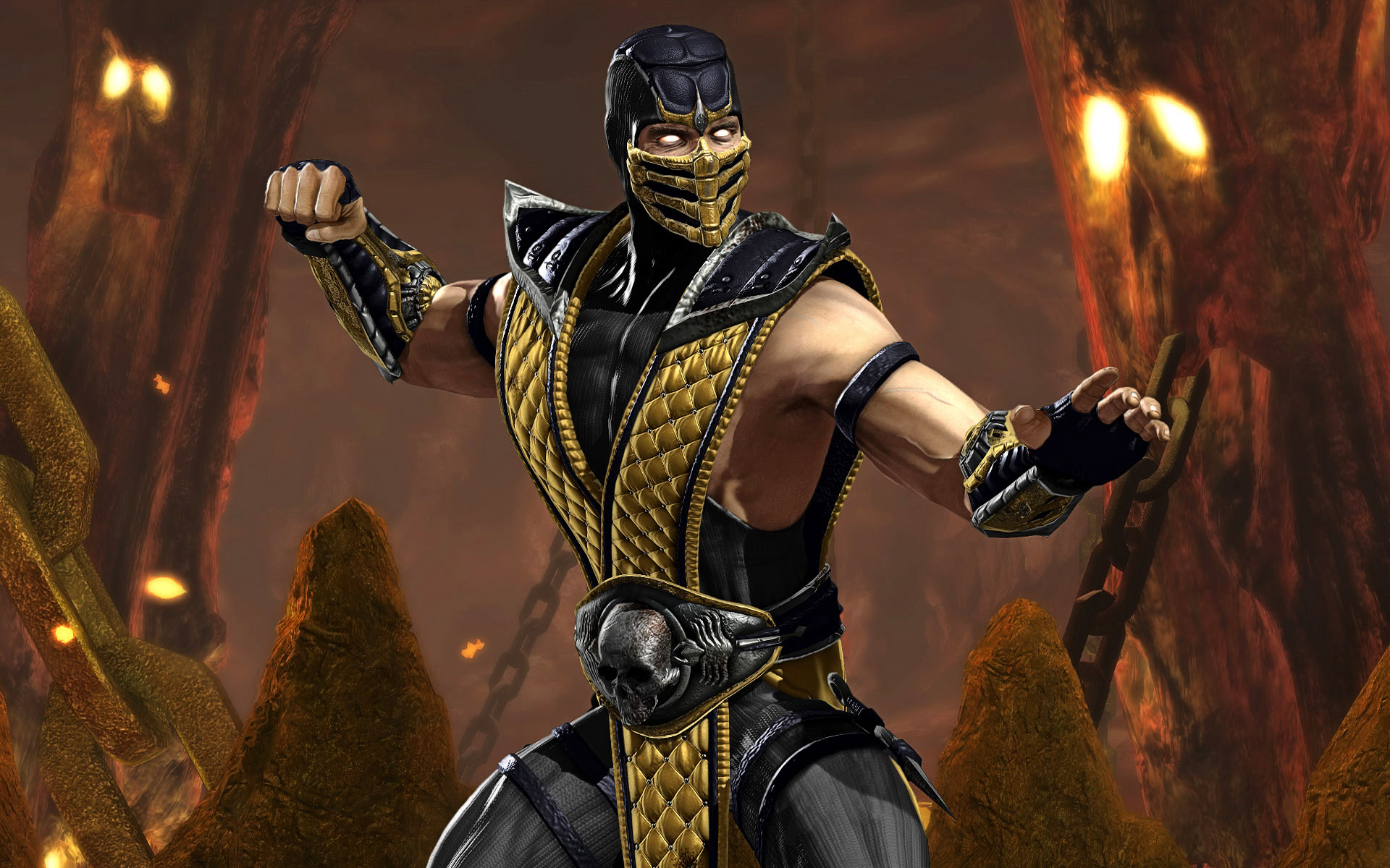 Scorpion Wallpaper Mortal Kombat   FotoLatinasCom 1920x1200