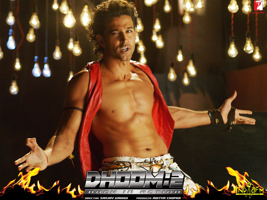 Dhoom 2 2006 Wallpapers hrithik roshan 288   Bollywood Hungama 1024x768