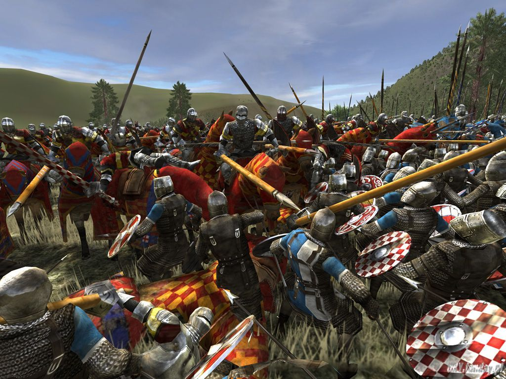 Medieval Battle wallpaper 1024x768 1024x768