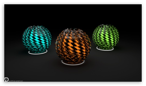 Distorted Spheres 5k Apple iMac HD wallpaper for HD 169 High 510x300