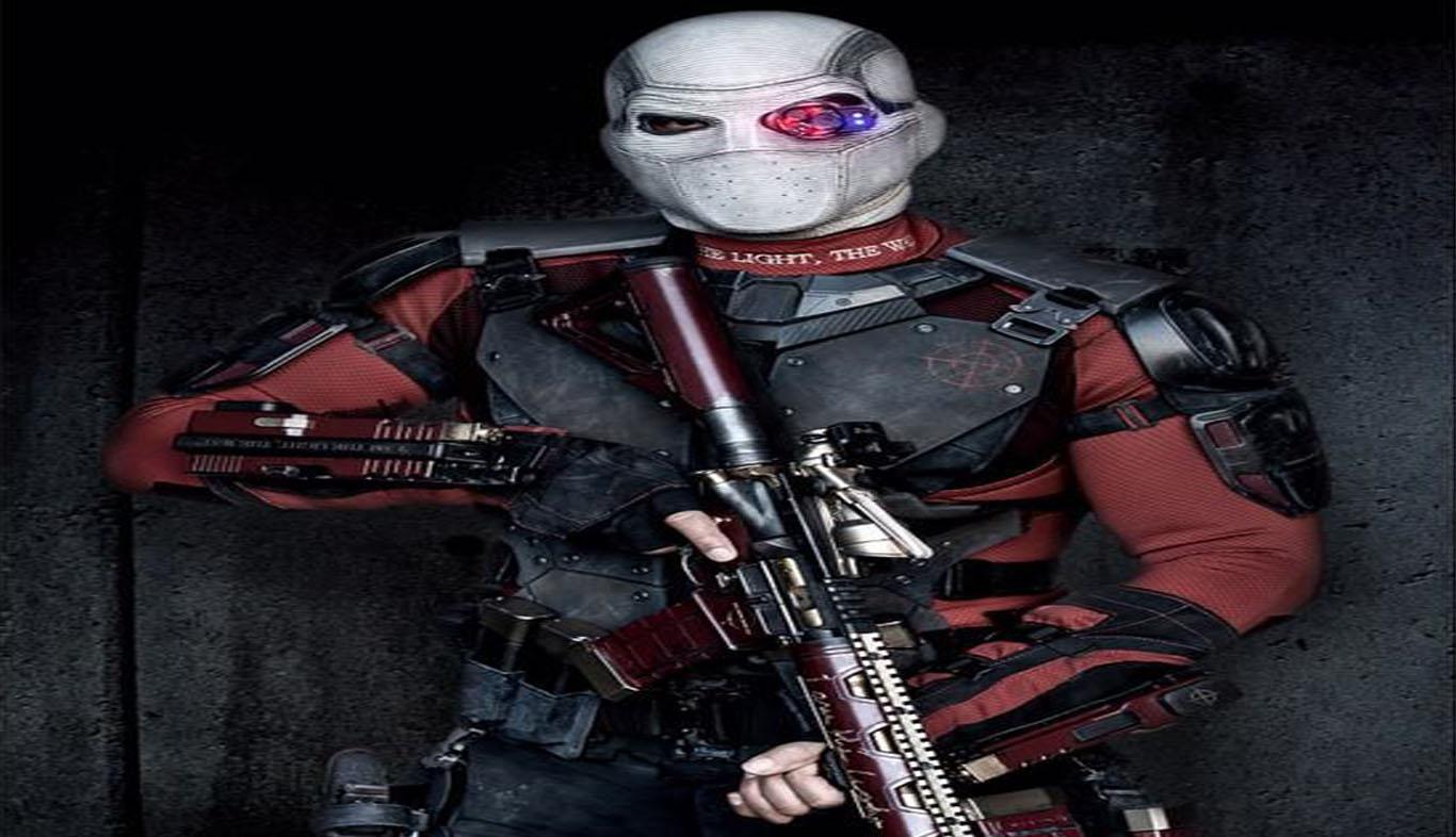 Download Suicide Squad Character Deadshot HD Wallpaper Wide Desktop 1366x786