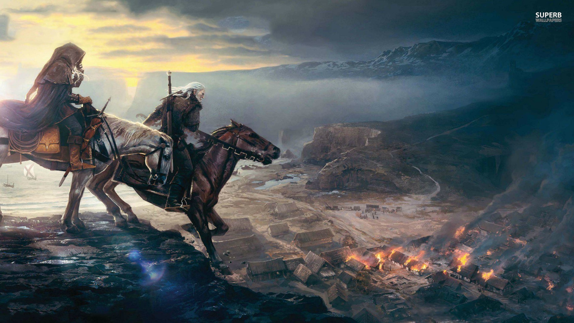 Fonds dcran The Witcher 3 tous les wallpapers The Witcher 3 1920x1080