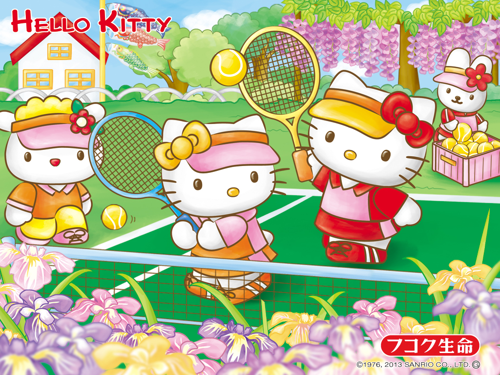Free Download Hello Kitty Tennis Sanrio Wallpaper Hello Kitty