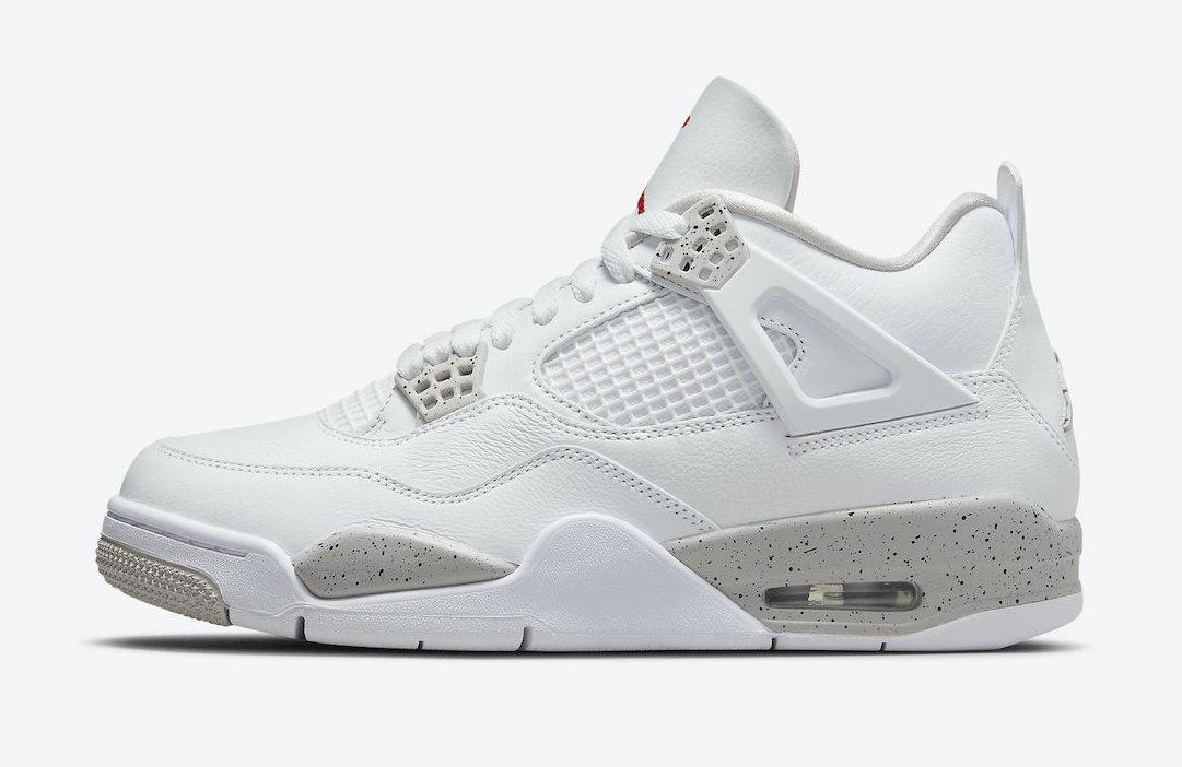 Official Images Air Jordan 4 White Oreo KicksOnFirecom 1081x702
