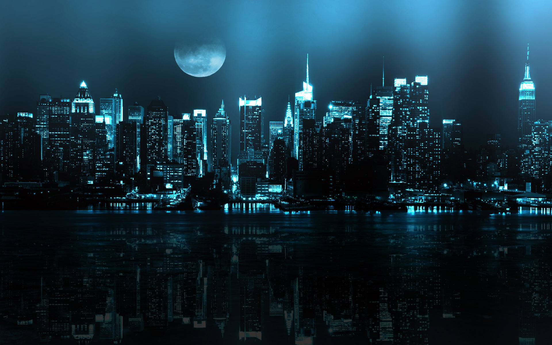 New York Skyline Wallpaper For Walls 1920x1200
