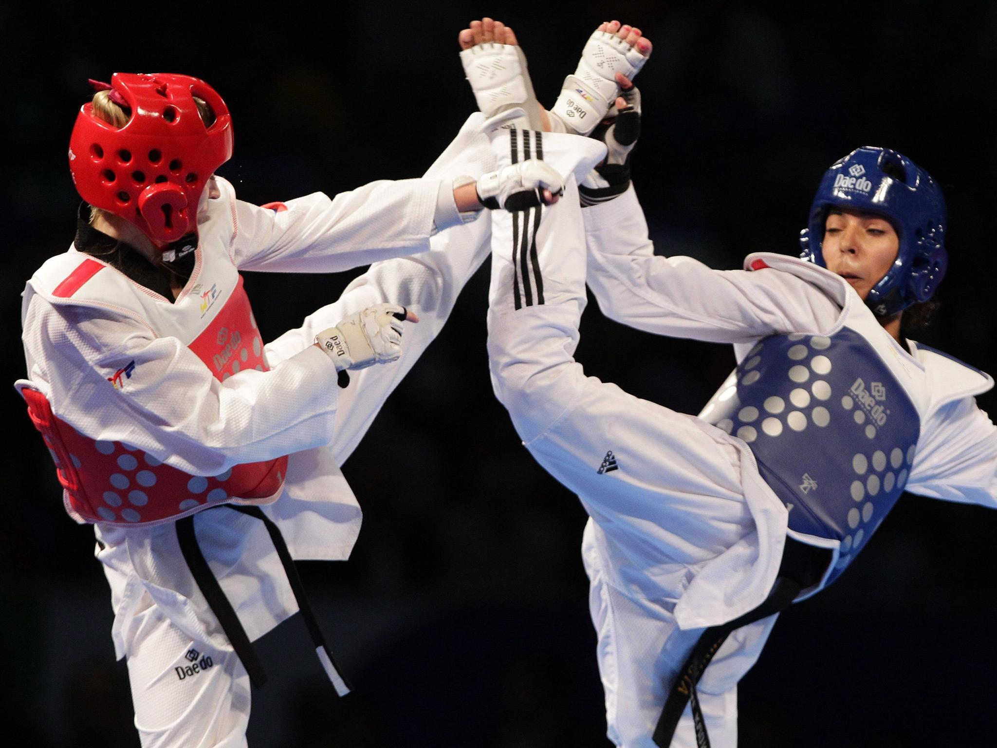 Taekwondo Sparring Wallpaper Taekwondo world tournamen 014 2048x1536