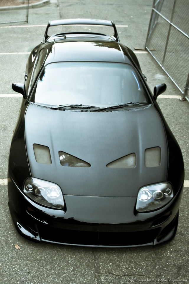 toyota supra wallpaper iphone   Car Release Date Reviews 640x960