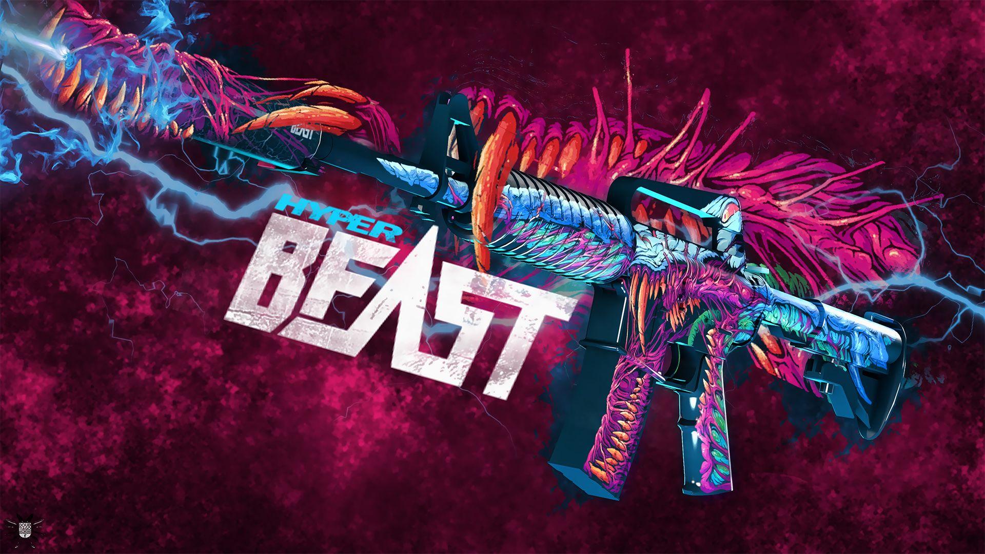Wallpapers hyper beast 3d art graphics beast monster csgo 1920x1080