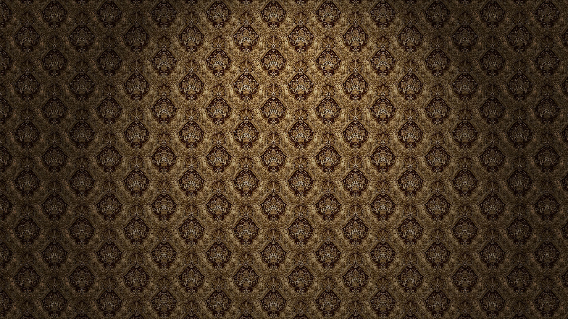 Gold and Black Pattern Wallpapers 1920x1080