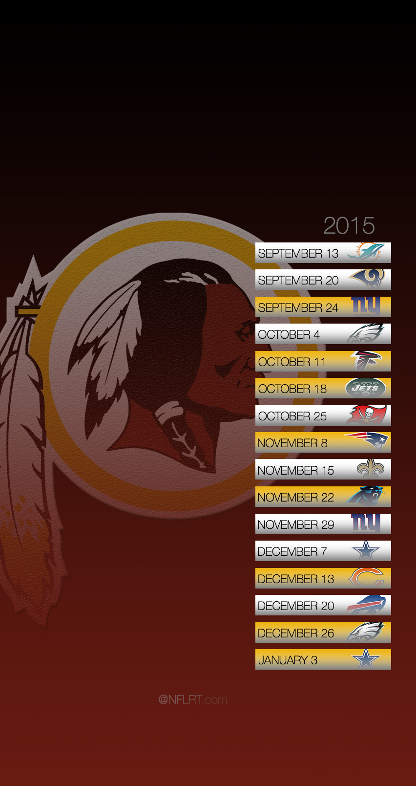 2015 NFL Schedule Wallpapers   Page 2 of 8   NFLRT 852x1608
